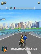 MOTO RACING FEVER 3D | 240*320