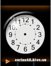 Flash часы   NOKIA s40 3d FP 1,2