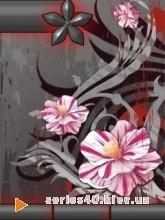 Silver_Flowers l 240*320