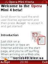Opera Mini 4 Beta Java   All