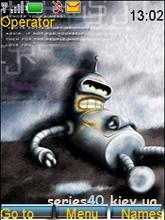 Bender Bending Rodriquez by morazmen l 240*320