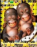 cute monkey | 128*160
