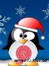 Pinguin Clock   240*320
