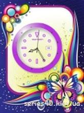 Butterfly Clock   240*320
