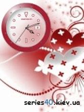 Red Hearth Clock   240*320
