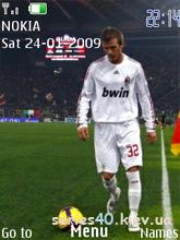 David Beckham by VOVAN_234 | 240*320
