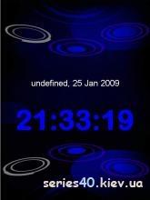 Xpressmusic blue clock   240*320