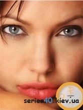 Anjelina Jolie Clock | 240*320