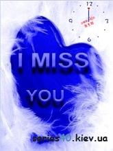 I Miss you Clock | 240*320