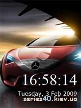 Car Clock   240*320
