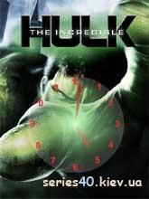 Hulk Clock   240*320