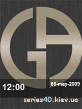 Armani Clock   240*320