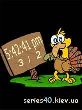 Chiken Clock   240*320