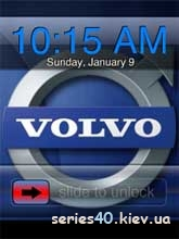 Volvo Logo Clock | 240*320