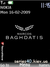 Marcos Baghdatis by Zion | 240*320