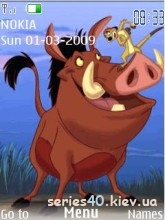 Timon and Pumba by Му)(а | 240*320