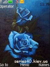Blue Rose by TrinityBlood   240*320