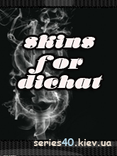 5 Black Skin For DiChat by Sea Hunter | 240*320