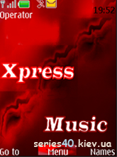 Xpress Music Red by youri.zlu | 240*320