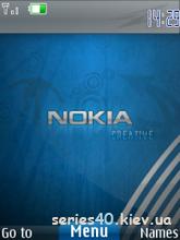 Nokia Creative Blue | 240*320