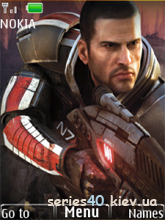 Mass Effect 2 by Vice Wolf | 240*320