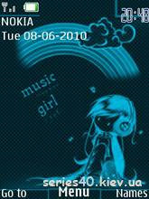 Music girl by temcka   240*320