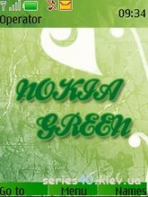 Nokia green by MegaTrone | 240*320