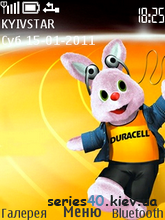 Заяц a.k.a Duracell by NokiaStyle | 240*320