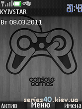 Console Games Theme by intel | 240*320