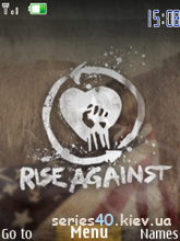 Rise Against Theme by MiX | 240*320