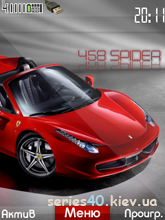 Ferrari 458 SPIDER by SyxaPb | 240*320