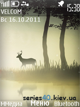 Forest deer by fliper2 | 240*320