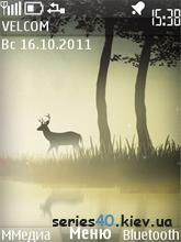 Forest deer by fliper2 | 240*320