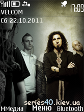 System of a Down & In Flames by fliper2 | 240*320