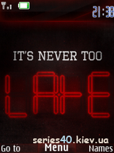 It's Never Too Late by MiX | 240*320