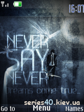 Never Say Never by MiX | 240*320