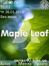 Maple Leaf by Ampeross | 240*320