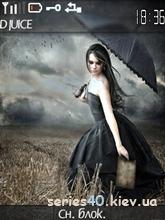 Girl with umbrella by kolьka_dinho   240*320