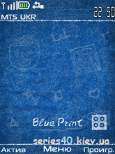 Blue Print by Mishany | 240*320