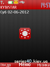 Red&Black&White Pixel by Mishany | 240*320