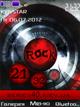 Rock theme by oooleg | 240*320