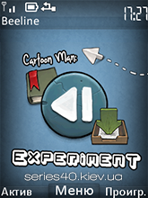 Cartoon Man: Experiments by Leo & fliper2 | 240*320