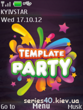 Template Party by intel | 240*320