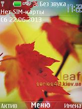 Leaf by УКСУS | 240*320