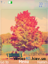 Autumn Romance by jamol & KoB6aCa | 240*320