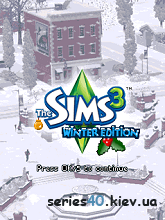 The Sims 3: Winter edition | 240*320