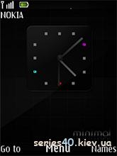black minimal theme | 240*320