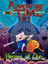 Adventure Time Heroes Of Ooo (Русская Версия) | 240*320