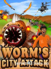 Worm's City Attack Pro | 240*320